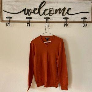 V neck men's sweater